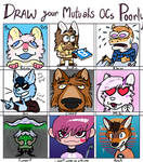 Did the 'Draw your Mutuals OCs Poorly' meme