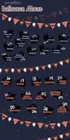 Pacapillars - Halloween Advent! [UPDATE]