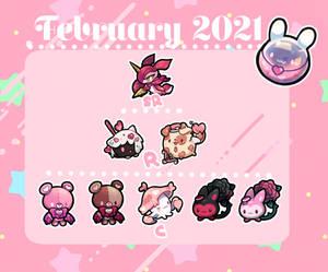 February 2021 rewards!