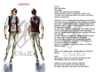 OC: Chayton by SaKo88