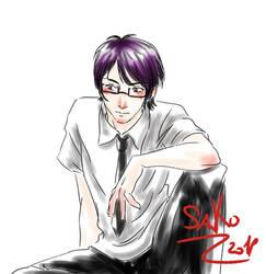 Sketch Com: Nicolas by SaKo88