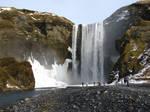 Skogafoss waterfall 3