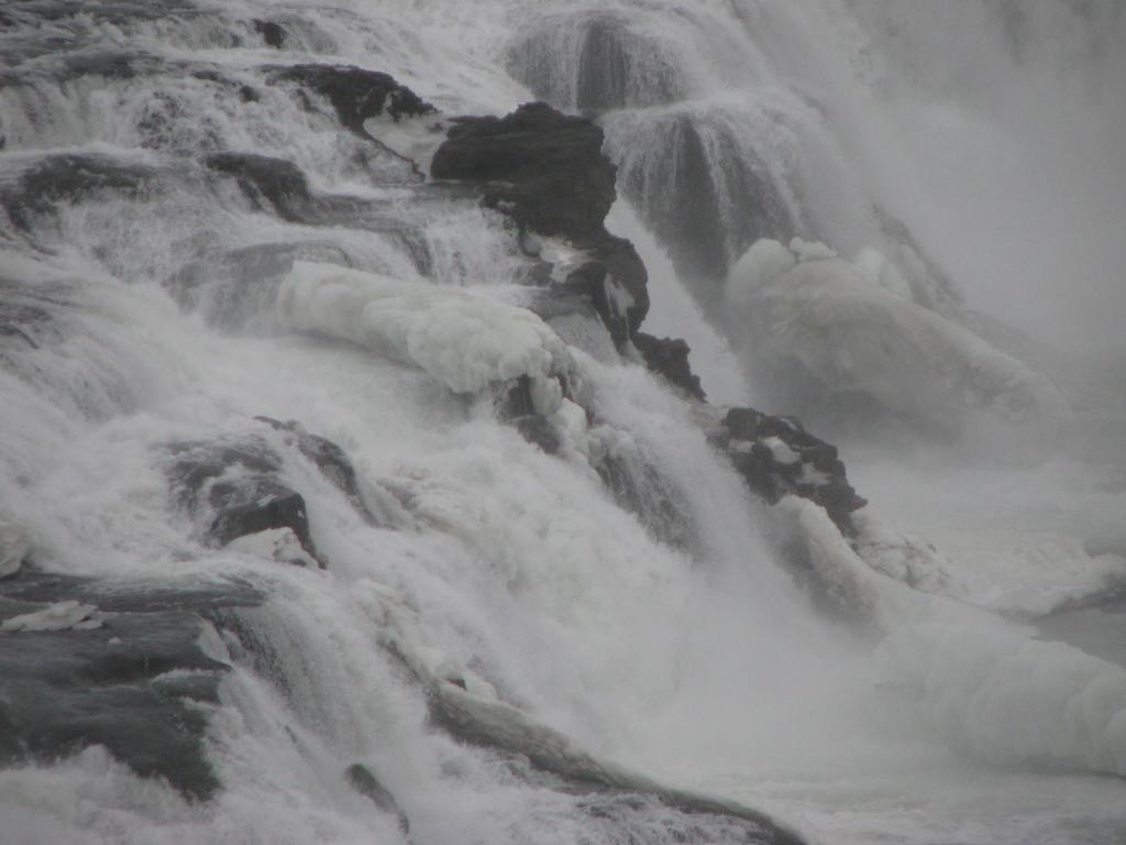 Gulfoss waterfall by Topaz172