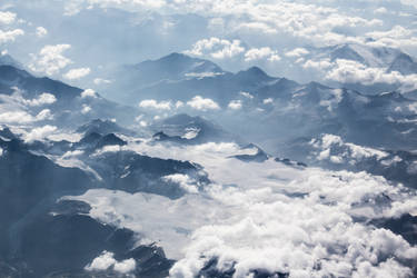 Alps 3 glacier by Topaz172