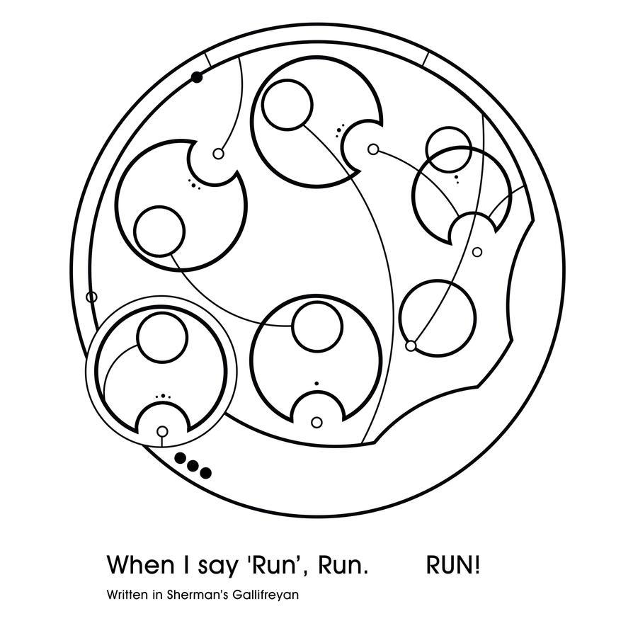 When I say 'run', run.     RUN! by Topaz172
