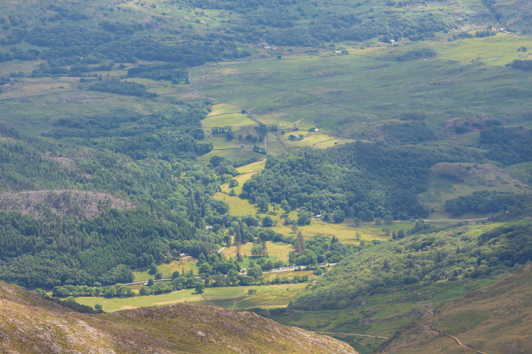 A view from snowdon 1 by Topaz172
