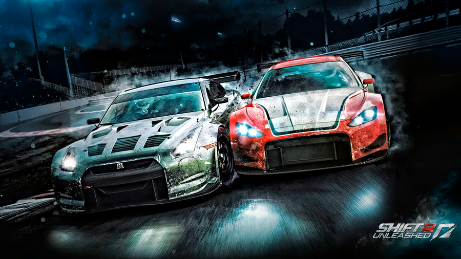NFS Shift 2 Unleashed Wall HD by legendasfp