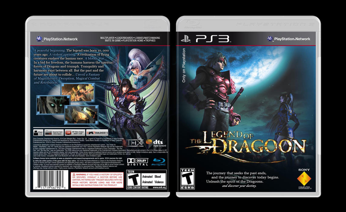 Legend of dragoon 2 ps3