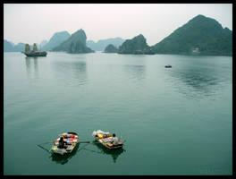 Halong Bay, Vietnam by kayne