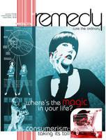 remedy - magazine cover by kayne