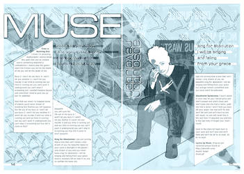 MUSE magazine spread by kayne