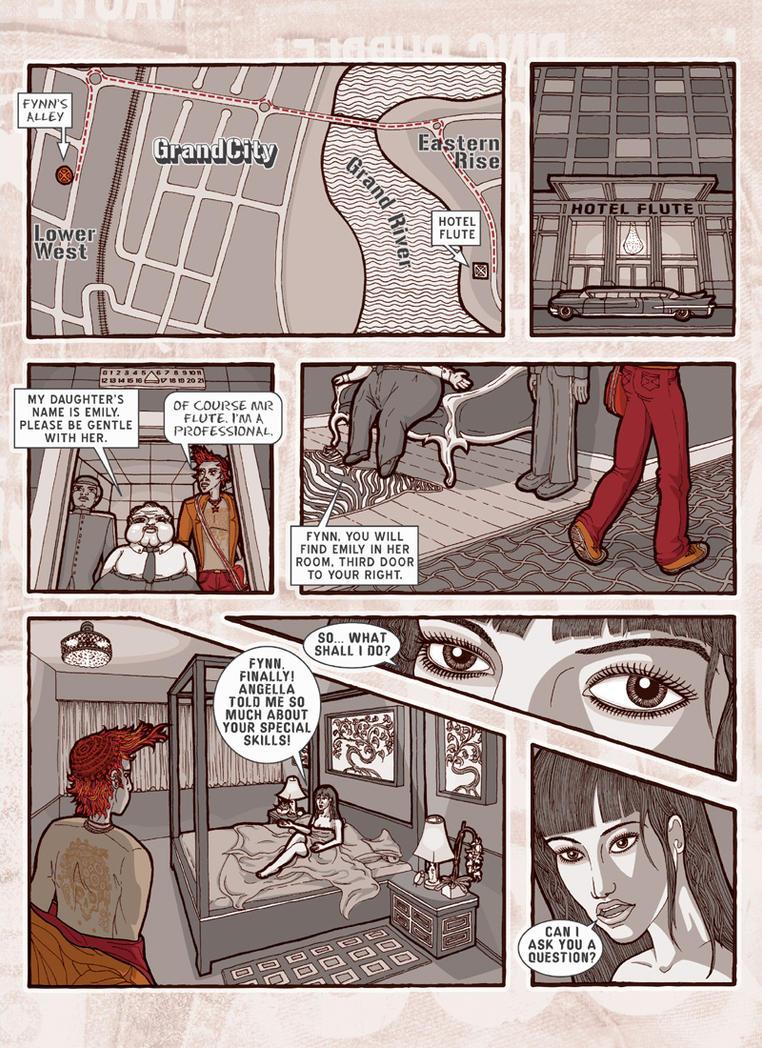 Fynn: Psychic Hustler - page 2 by kayne