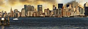 I Miss New York III-Panaroma- by PortraitOfaLife