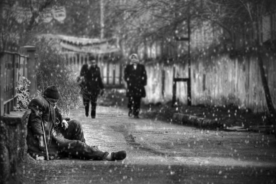Surrender To Snow by PortraitOfaLife