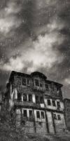 alone under dark clouds by PortraitOfaLife