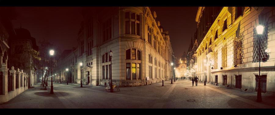 Bucharest Nights II by PortraitOfaLife