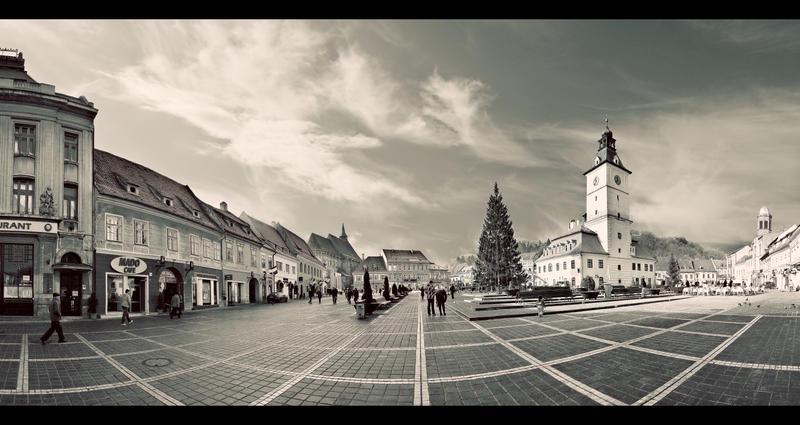 Old Brasov City Center by PortraitOfaLife