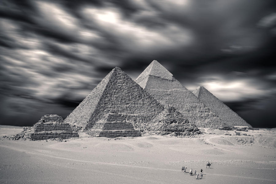 The Pyramids by PortraitOfaLife