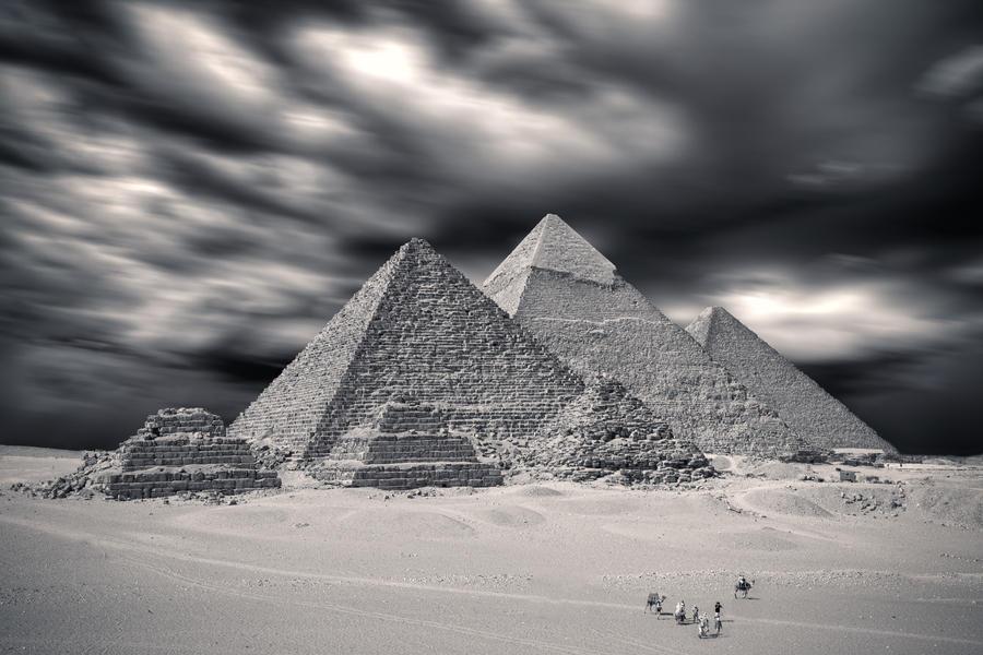 The Pyramids by PortraitOfaLife