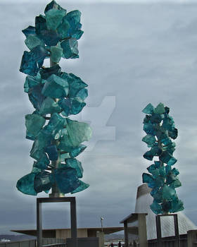 Chihuly's Crystal Towers