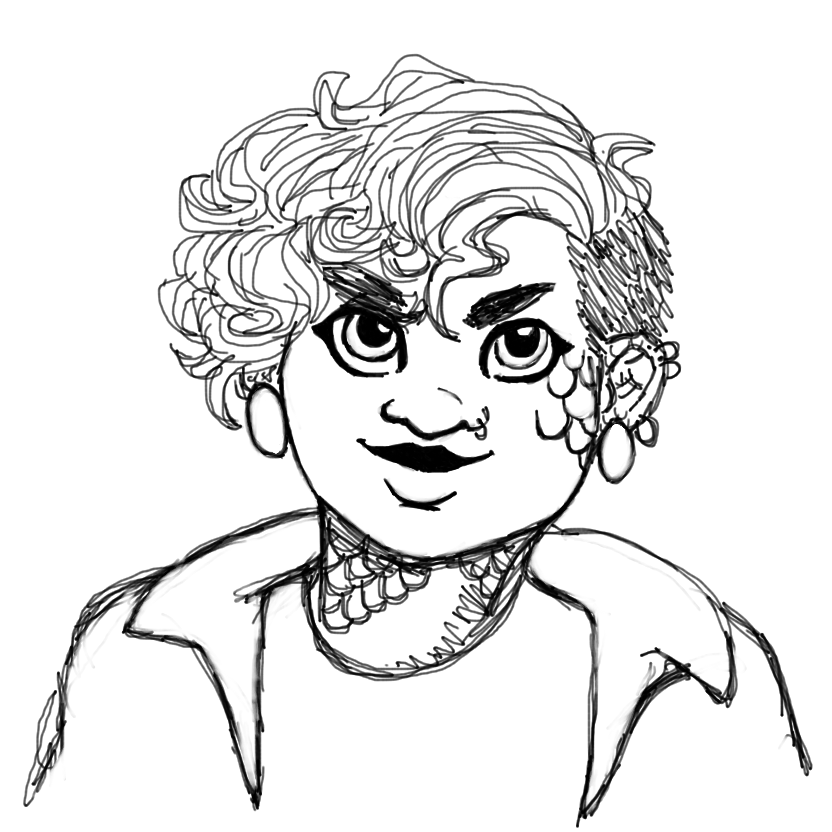 Lana sketch by pocketsterling