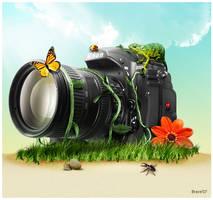 Nikon D300 by BraveDesign