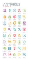 Antivirus Icons by BraveDesign