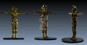 garo 3d model full body
