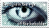 Stamp: Eye of Beholder by Silver-MoonNight