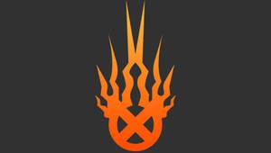 Orange Static-X PSP Wallpaper by Ace02