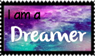 I am a Dreamer Stamp by cupcakediary