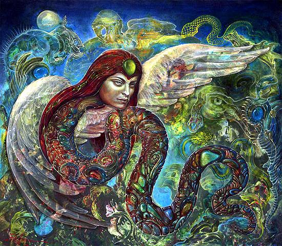 Martina Hoffman - Curandera by QCC-Art