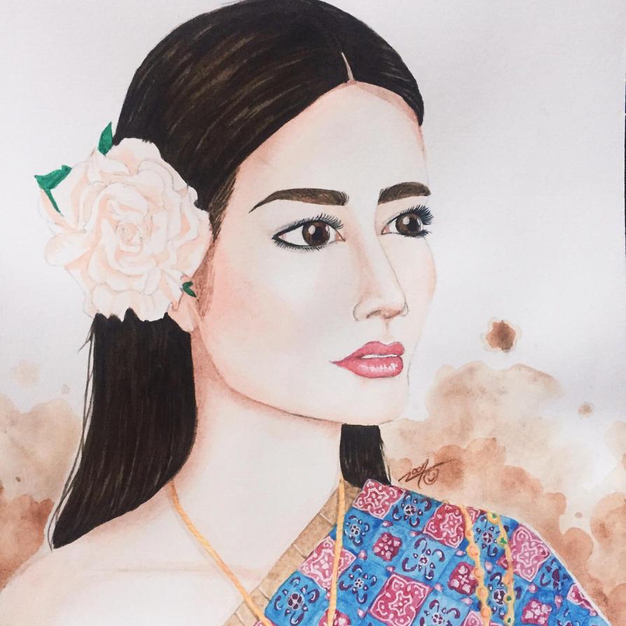 Chalita Suansane Miss Thailand  by AfterNoonZ