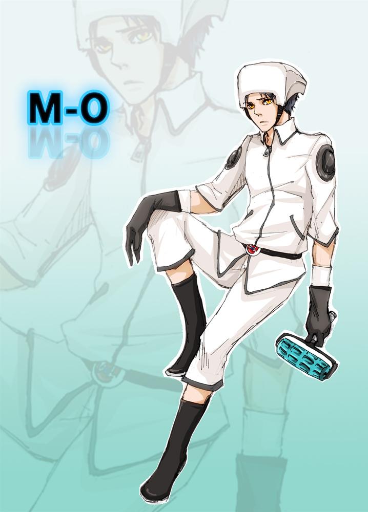 Human M-O by SchifferCake