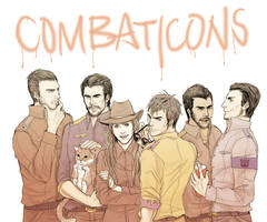 We are the Combaticons by SchifferCake