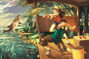 Fishing by alex-tuan