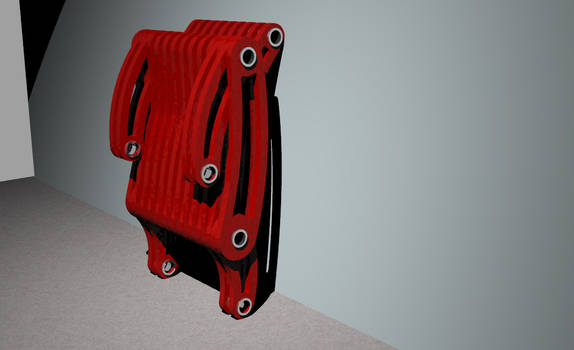 Folding Chair, Folded