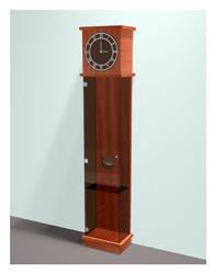 Glassfather Clock
