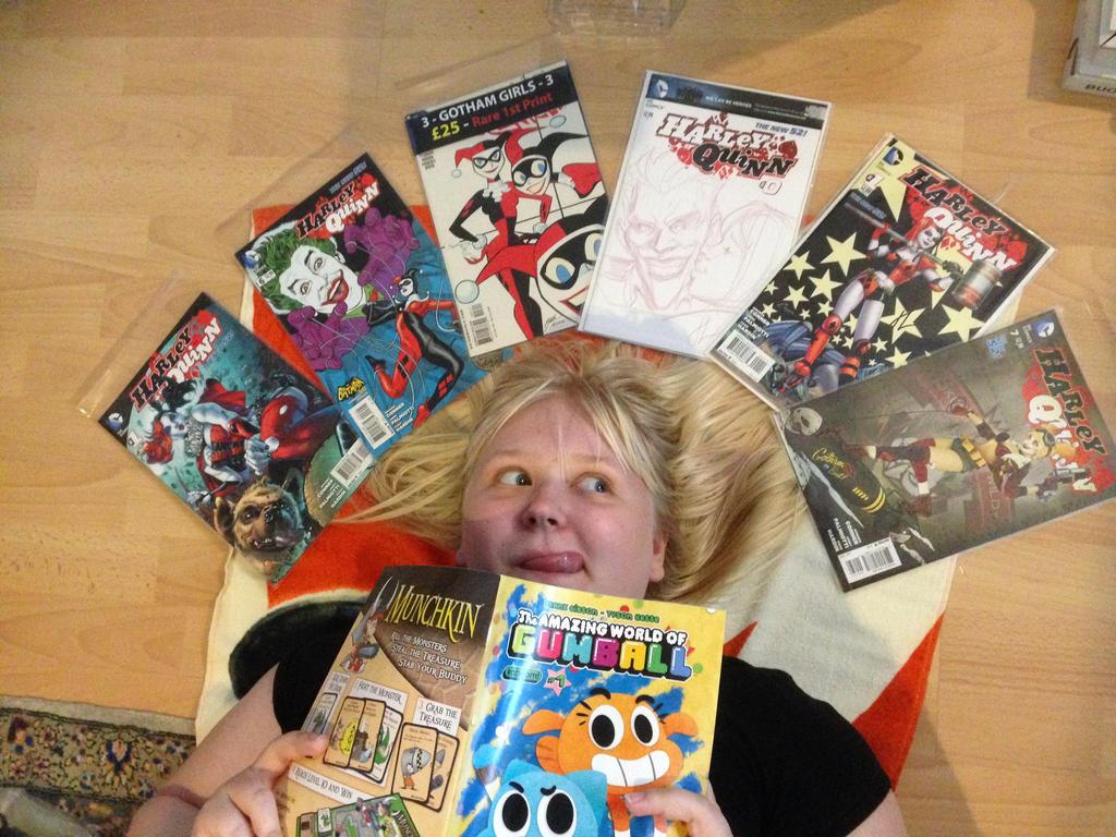 I like comic, yes! by PinkyCupcake