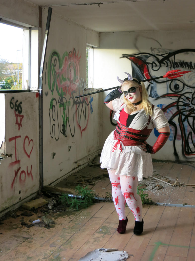 Harley's halloween costume by PinkyCupcake