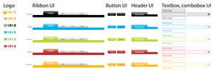 web 2.0 ui theme by morxs
