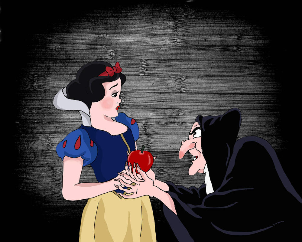 Snow White and the poisonous apple by Angelii-D on DeviantArt