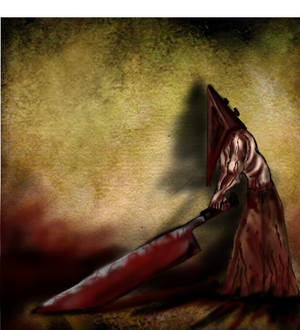 Pyramid Head-Silent Hill