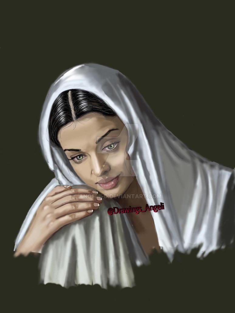 aishwarya rai by Angelii-D