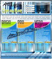 Colorful 3D Web Hosting by rameexgfx