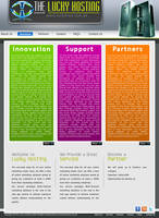 LUCKY WEB HOSTING by rameexgfx