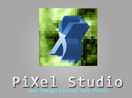 PiXel Studio Design Logo by rameexgfx