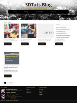 SDTuts Blog - WordPress Video Tutorial