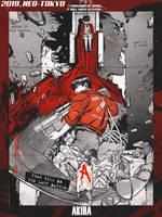 [AFFICHE TEST] Akira - Tetsuo Shima by Amne-Arts