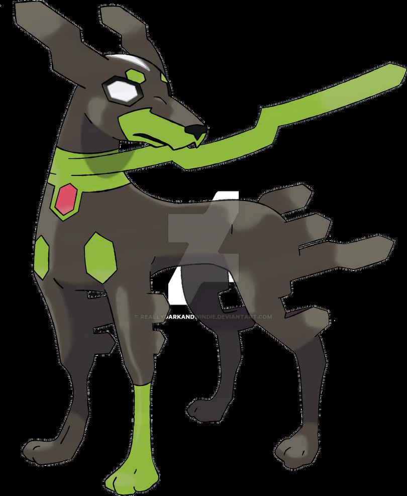 Squishy Dog From Pokemon : Zygarde 10% by ReallyDarkandWindie on DeviantArt